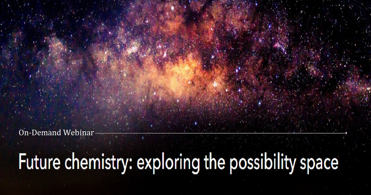 Future chemistry: exploring the possibility space