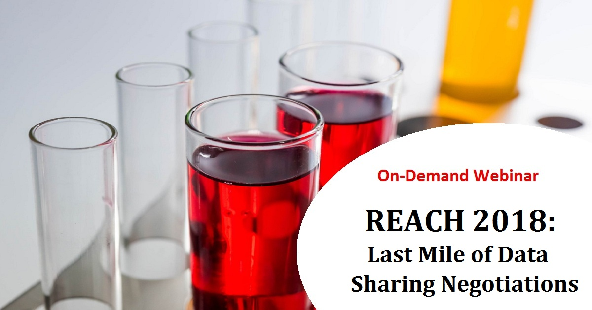 REACH 2018: Last Mile of Data Sharing Negotiations