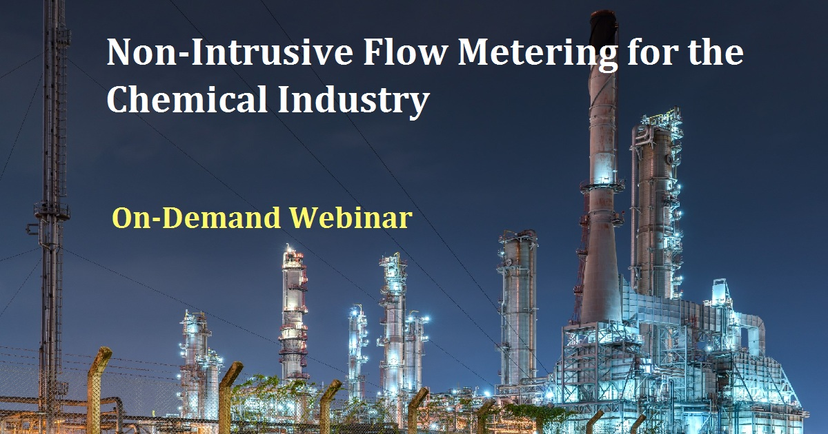Flow: Non-Intrusive Flow Metering for the Chemical Industry
