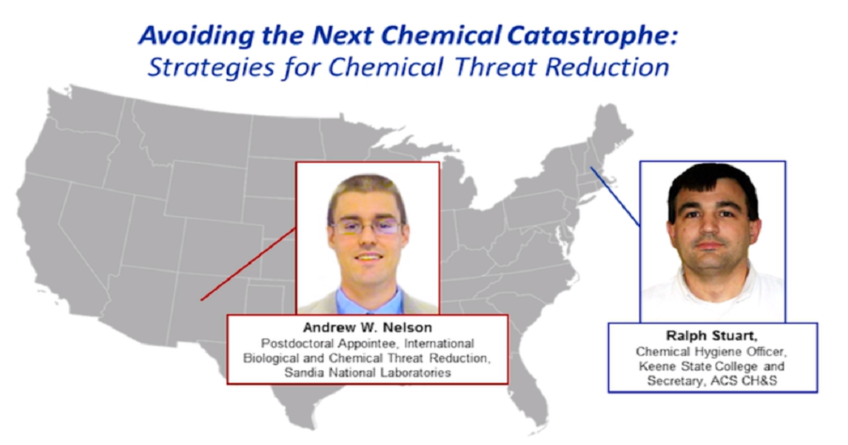 Avoiding the Next Chemical Catastrophe: Strategies for Chemical Threat Reduction