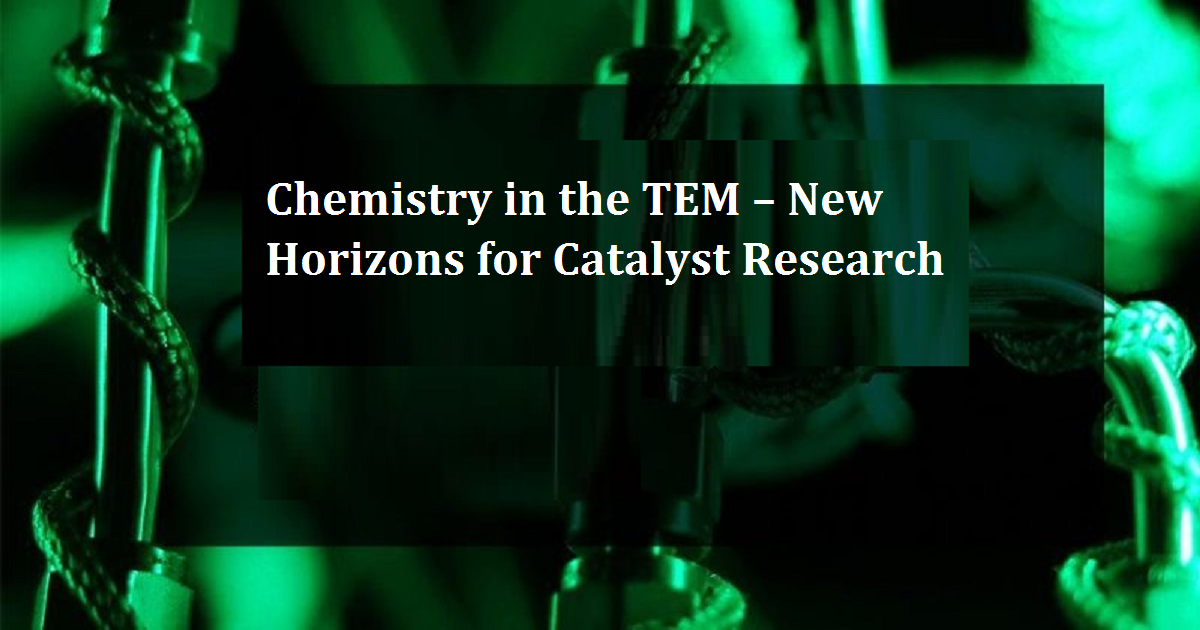 Chemistry in the TEM – New Horizons for Catalyst Research
