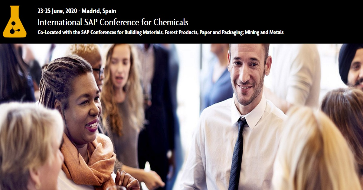 International SAP Conference for Chemicals