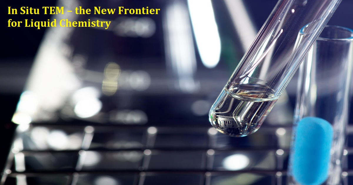 In Situ TEM – the New Frontier for Liquid Chemistry