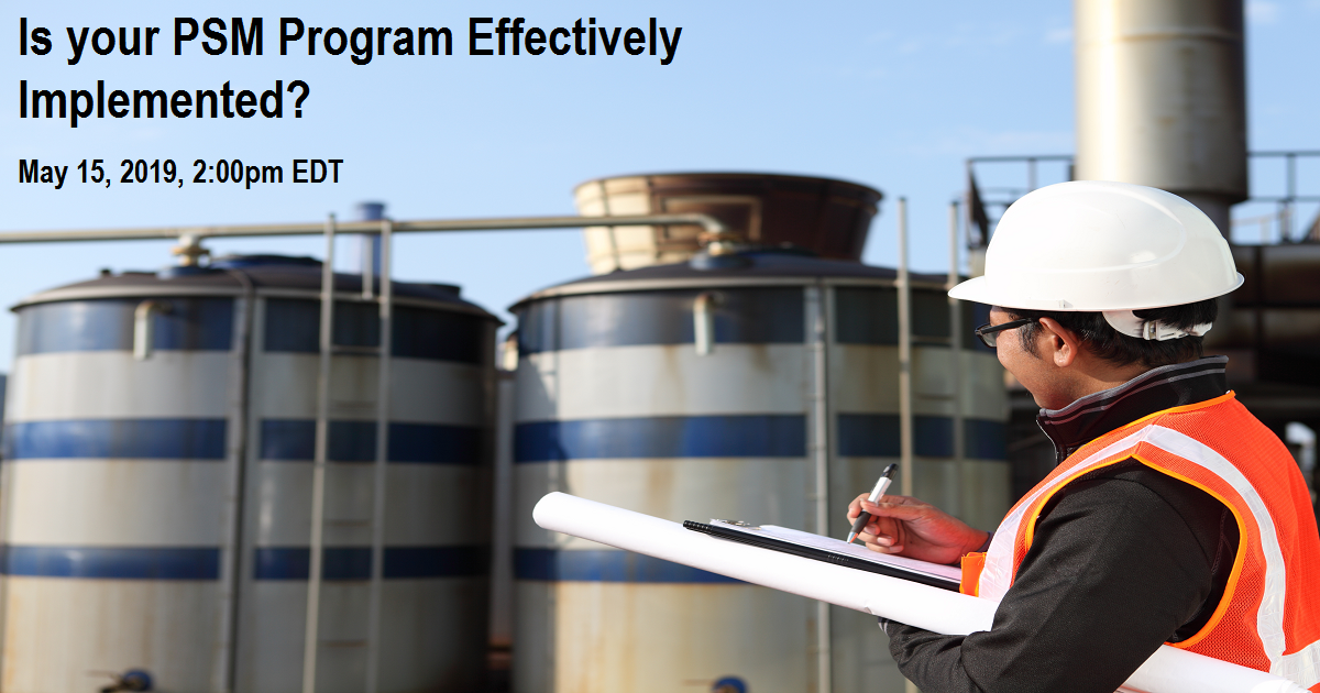 Is your PSM Program Effectively Implemented?