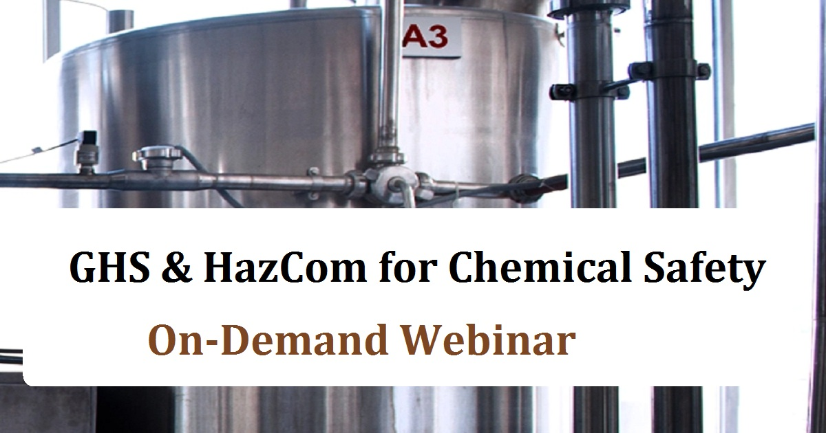 GHS & HazCom for Chemical Safety