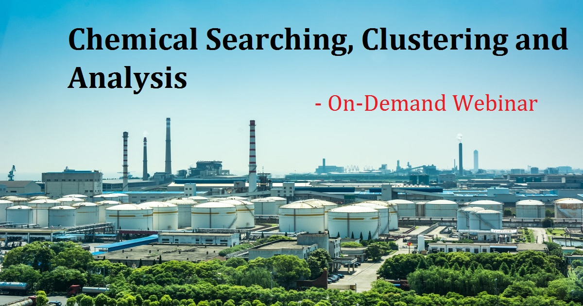 Chemical Searching, Clustering and Analysis