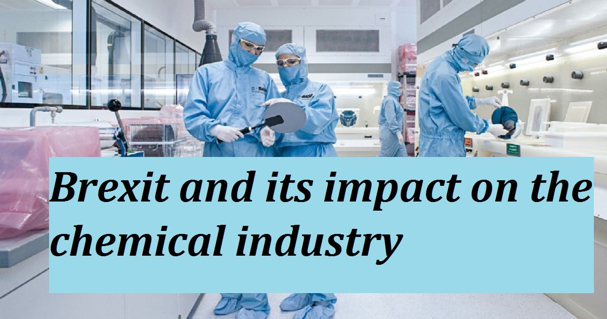 Brexit and its impact on the chemical industry