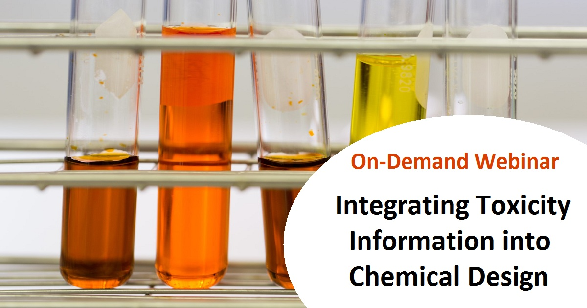 Integrating Toxicity Information into Chemical Design
