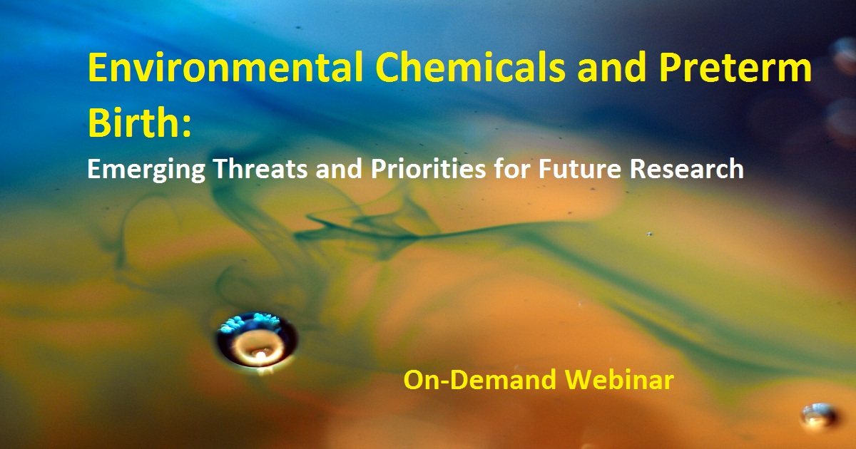 Environmental Chemicals and Preterm Birth: Emerging Threats and Priorities for Future Research