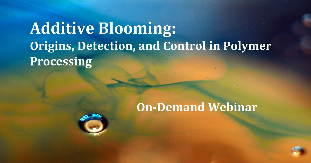 Additive Blooming: Origins, Detection, and Control in Polymer Processing