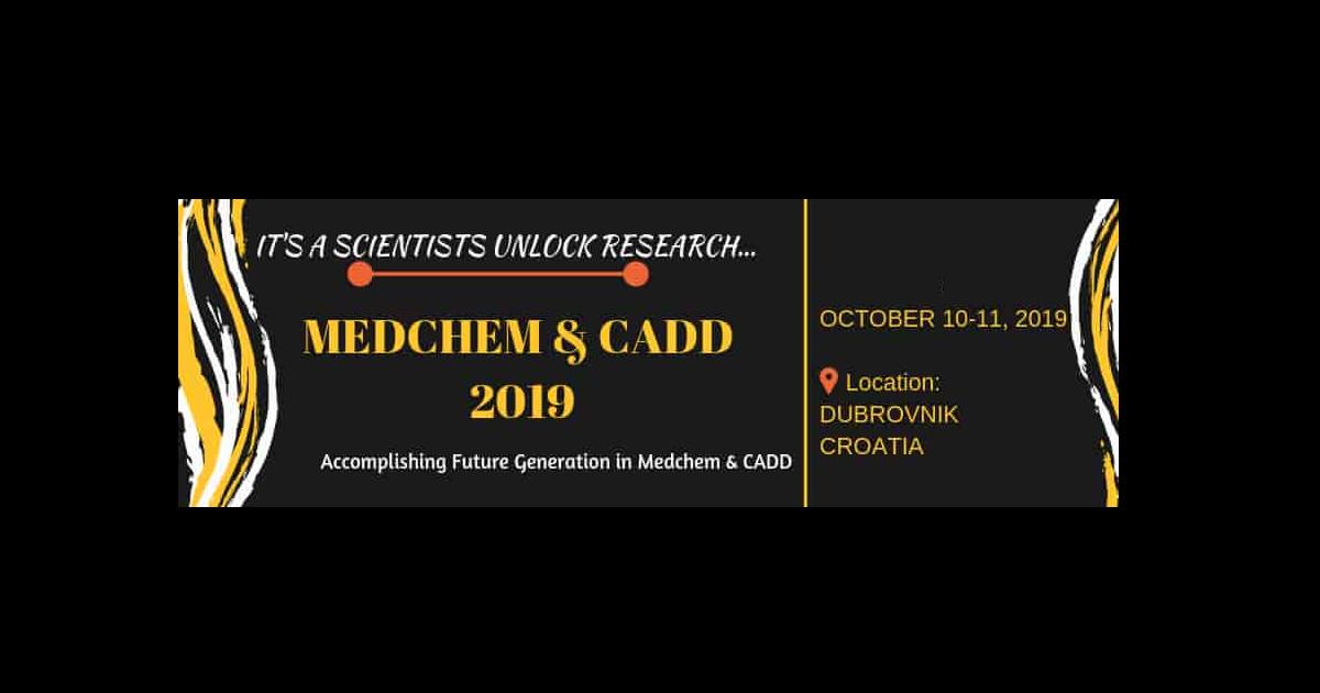 15th World Congress on Medicinal Chemistry & CADD