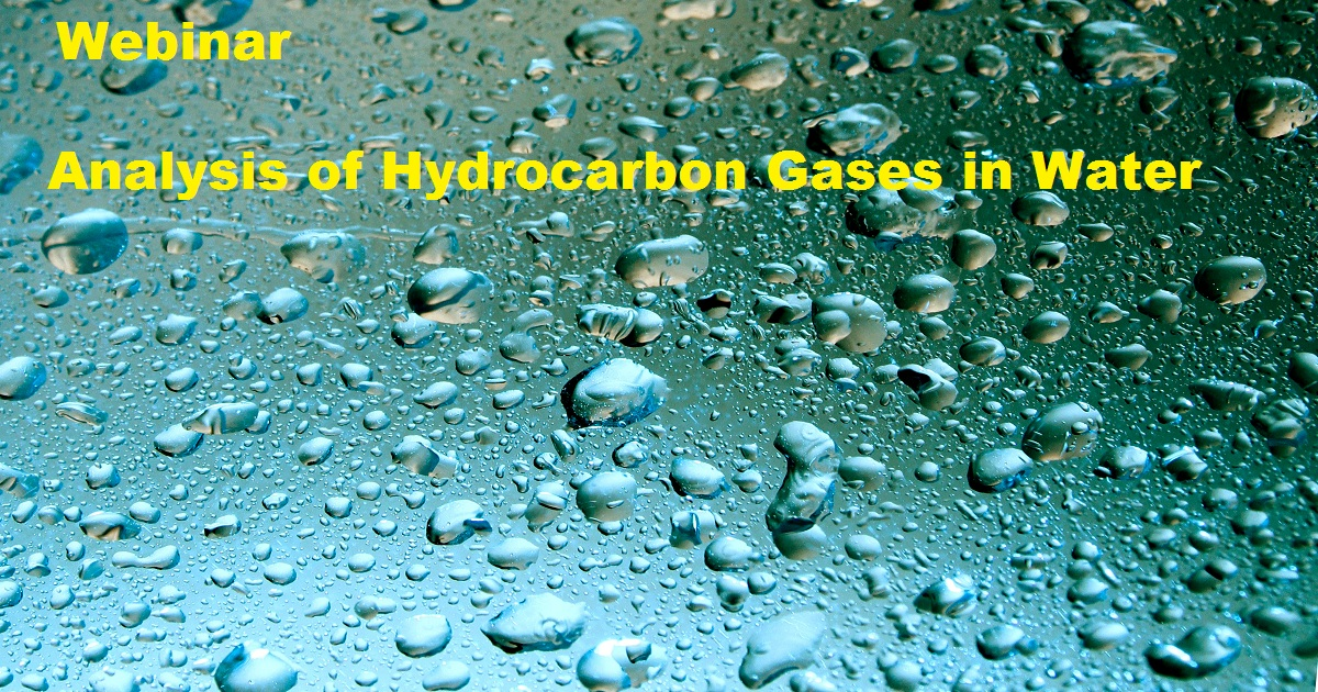 Analysis of Hydrocarbon Gases in Water