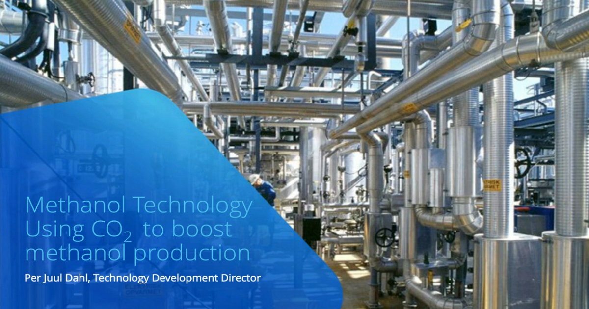 Webinar: Using CO2 to boost methanol production