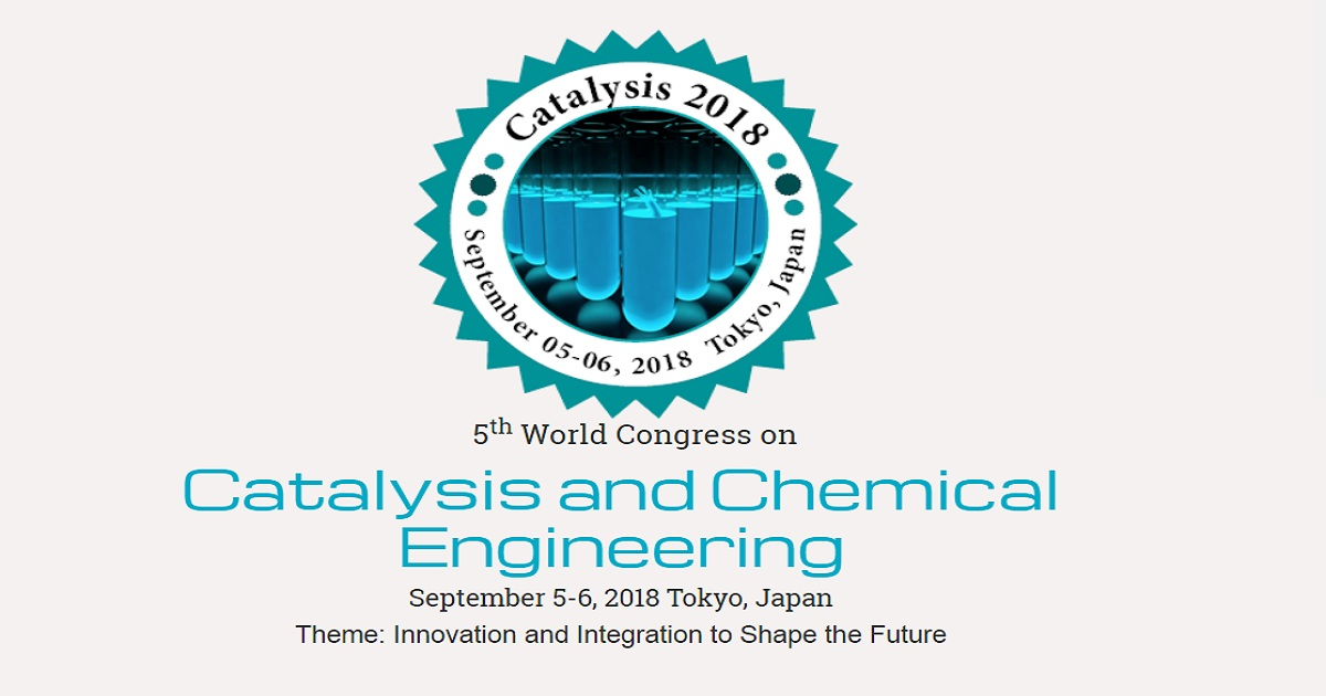 5Th World Congress On Catalysis And Chemical Engineering