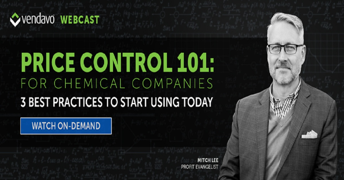 Price Control 101: For Chemical Companies