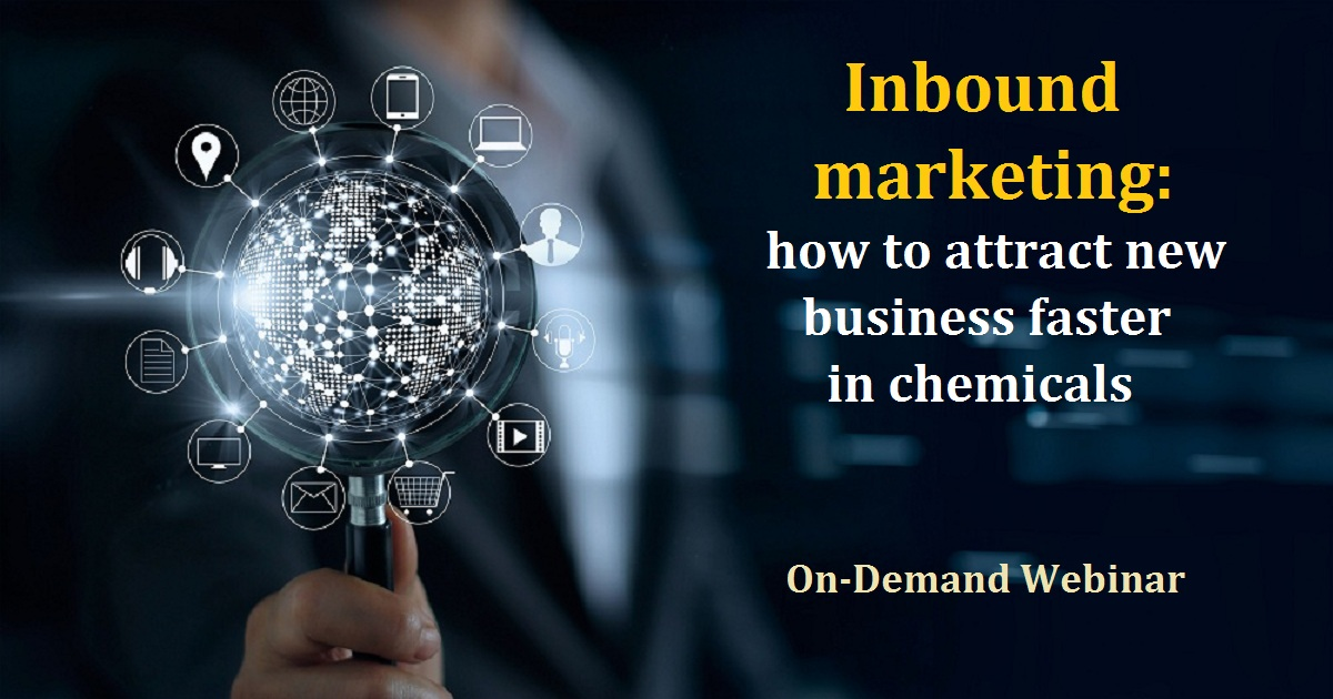 Inbound marketing: how to attract new business faster in chemicals