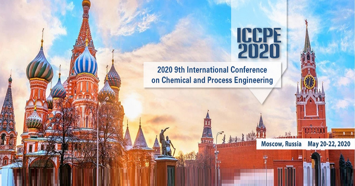 9th International Conference on Chemical and Process Engineering