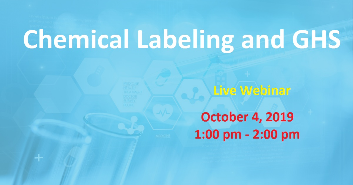 Chemical Labeling and GHS