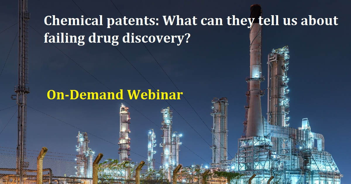 Chemical patents: What can they tell us about failing drug discovery?