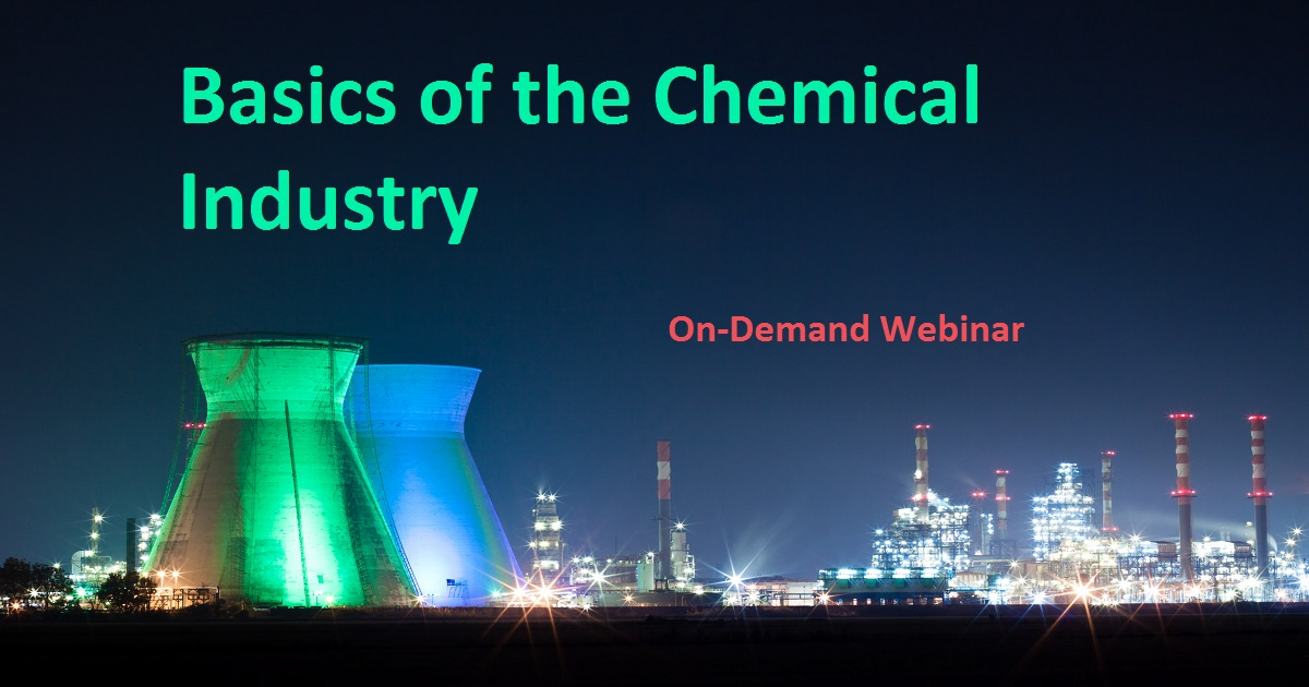 Basics of the Chemical Industry