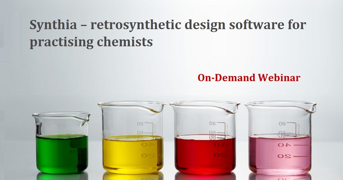 Synthia – retrosynthetic design software for practicing chemists