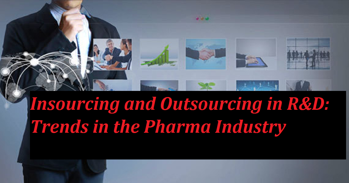 Insourcing and Outsourcing in R&D: Trends in the Pharma Industry