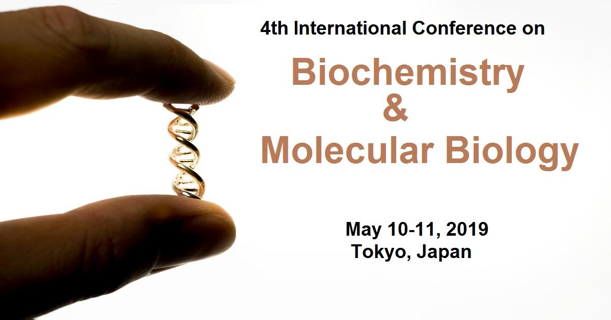 4th International Conference on Biochemistry & Molecular Biology