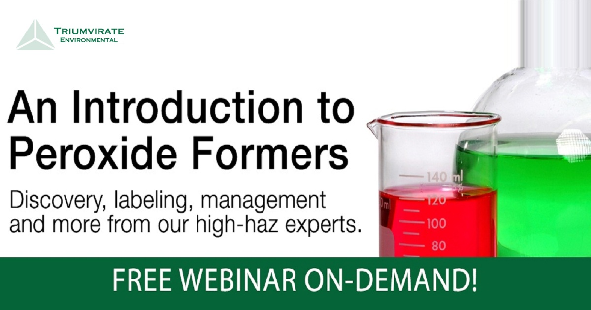 An Introduction to Peroxide Formers