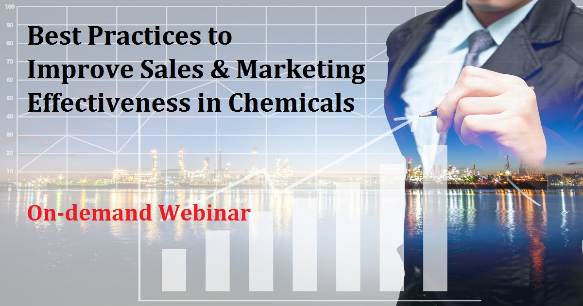 Best Practices to Improve Sales & Marketing Effectiveness in Chemicals