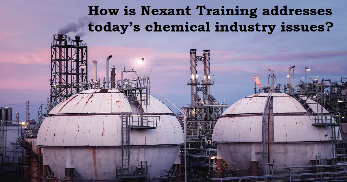 How is Nexant Training addresses today's chemical industry issues?