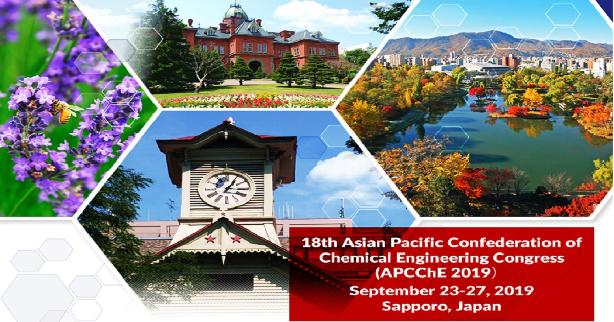 18th Asian Pacific Confederation of Chemical Engineering Congress (APCChE 2019)