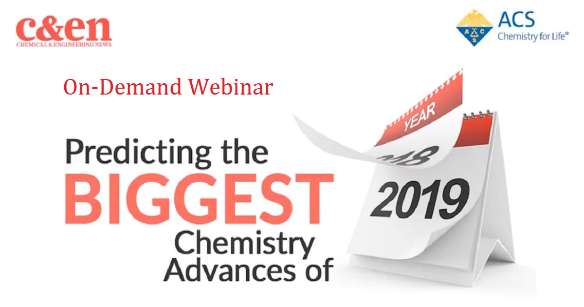 Predicting the Biggest Chemistry Advances of 2019