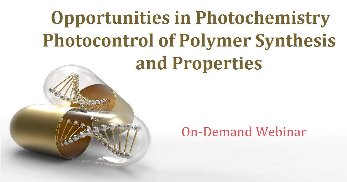Opportunities in Photochemistry Photocontrol of Polymer Synthesis and Properties