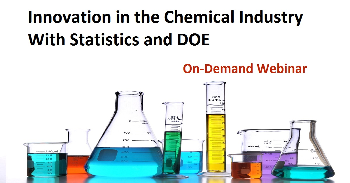 Innovation in the Chemical Industry With Statistics and DOE