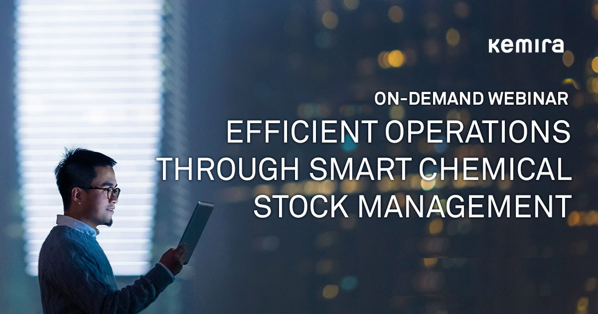 EFFICIENT OPERATIONS THROUGH SMART CHEMICAL STOCK MANAGEMENT