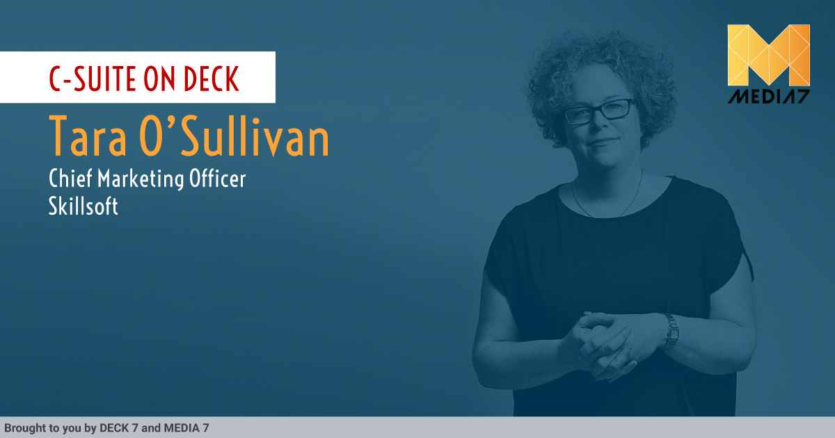 Q&A with Tara O'Sullivan, CMO of SKILLSOFT