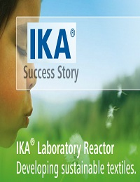 IKA LABORATORY REACTOR: DEVELOPING SUSTAINABLE TEXTILES